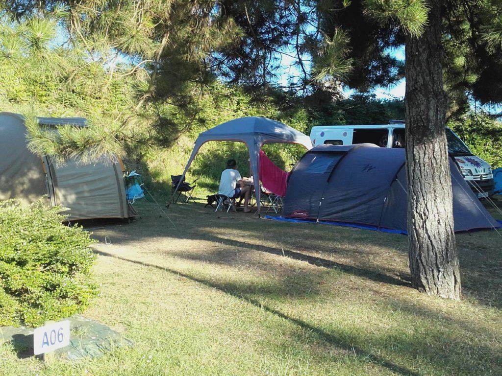 tente camping bretagne