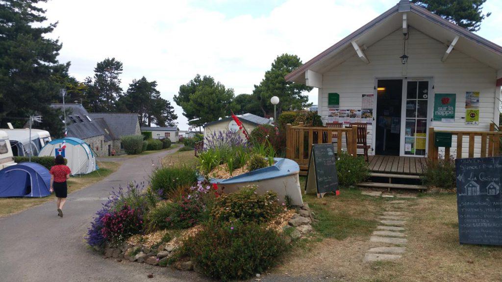camping Bretagne avec accès direct plage