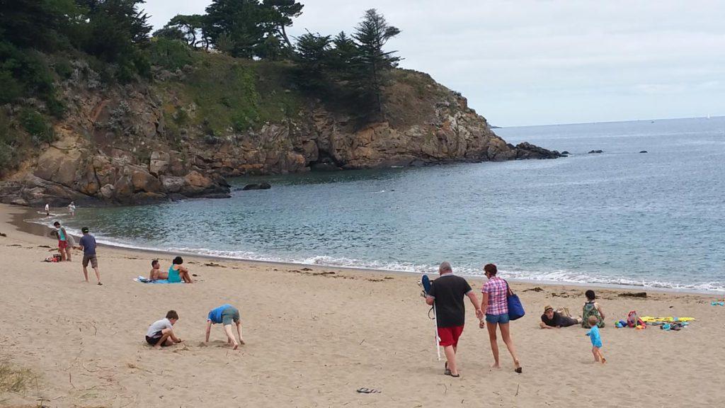 camping accès direct plage de bretagne