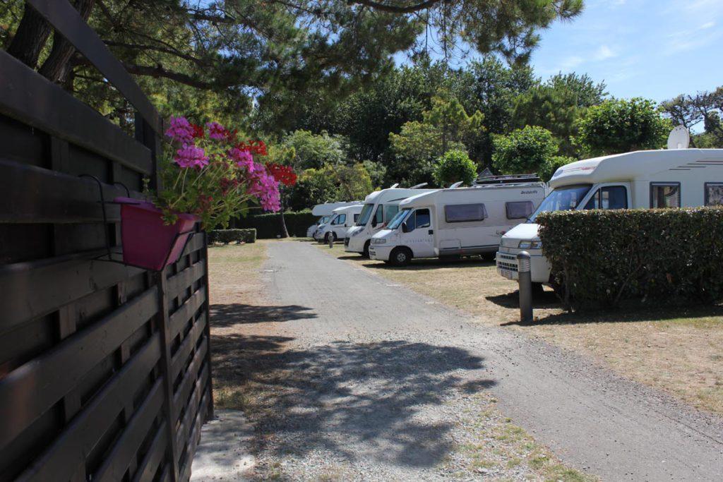 Emplacement camping 4 étoiles les mielles