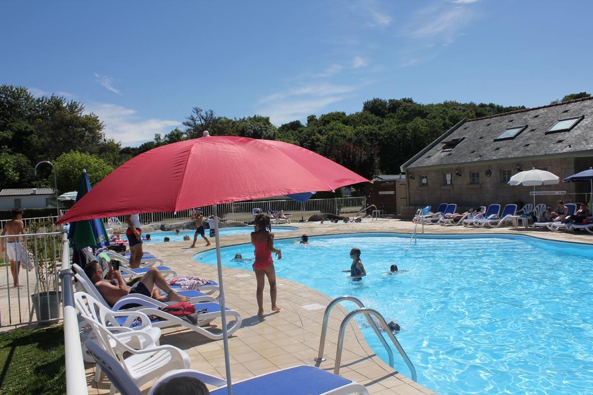 Camping 4 étoiles avec piscine