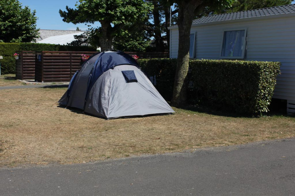 emplacement tente camping bretagne
