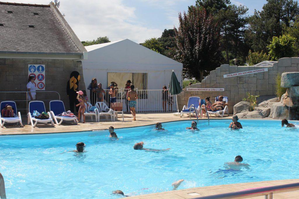 camping piscine Bretagne