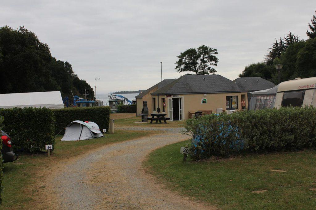 emplacements de campingles
