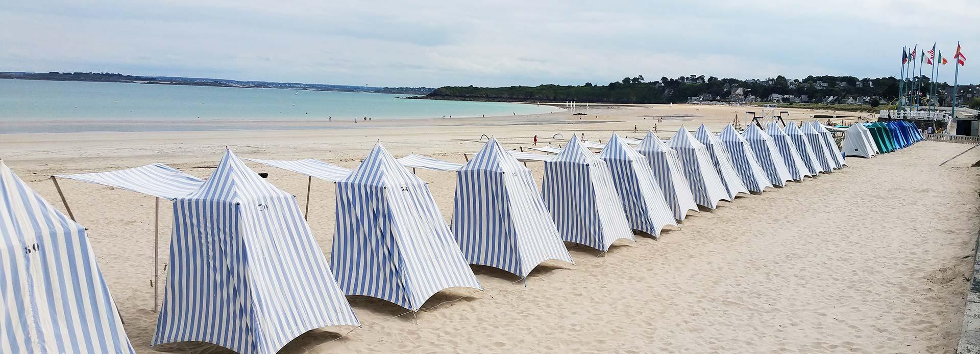 la plage de St Cast