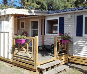 Camping Les Mielles - Mobil-Home Les Caps