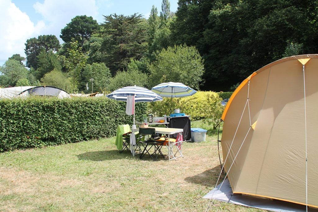 emplacement camping bord de plage
