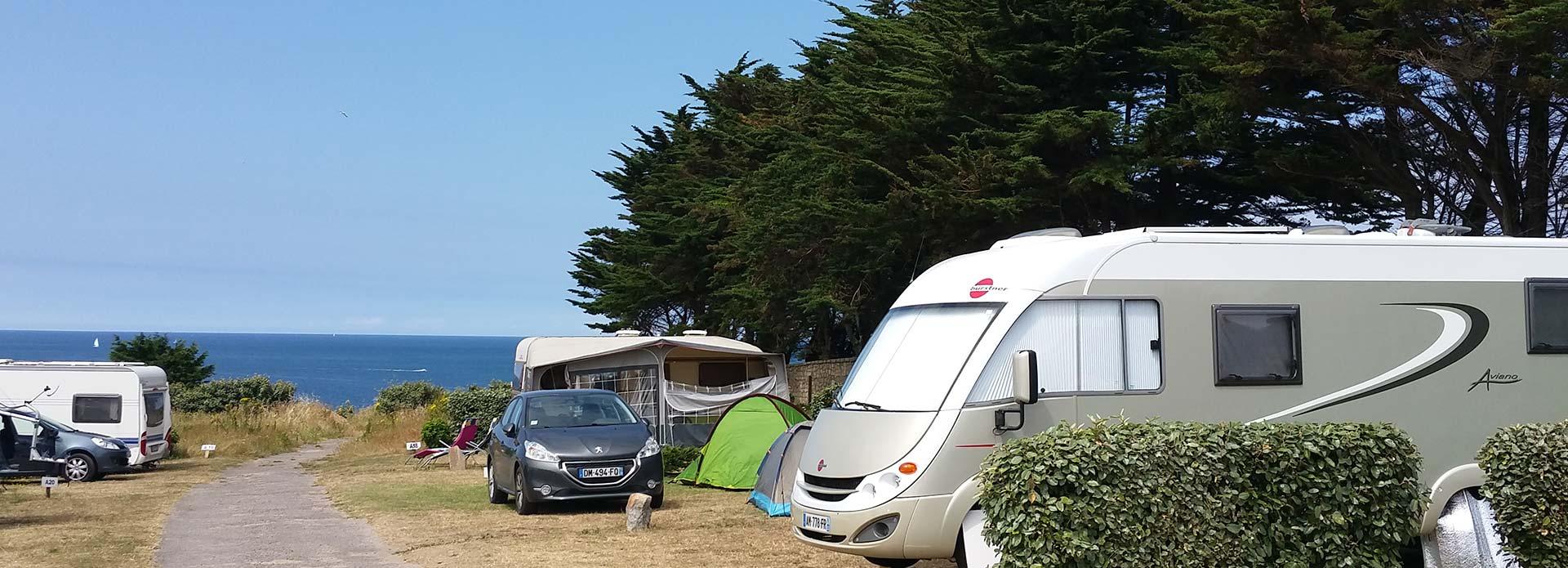 location dans camping calme