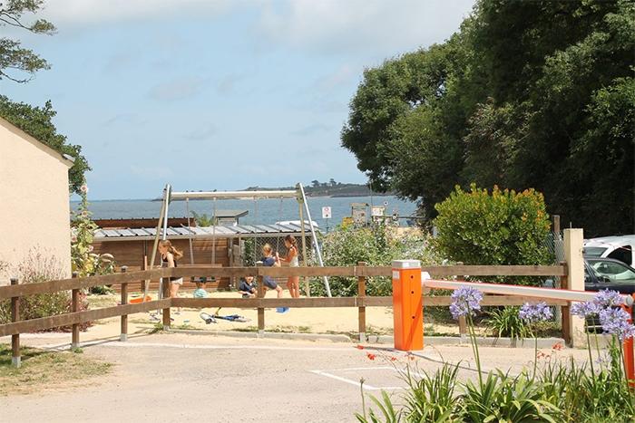 camping vue sur la mer cap Fréhel