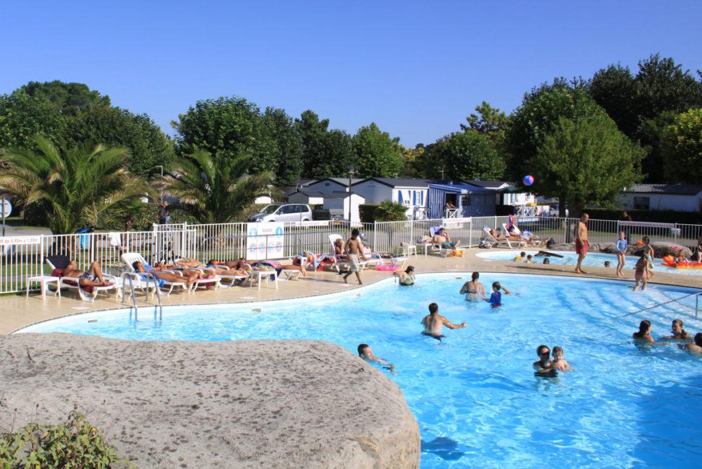 Ouverture de la piscine du camping